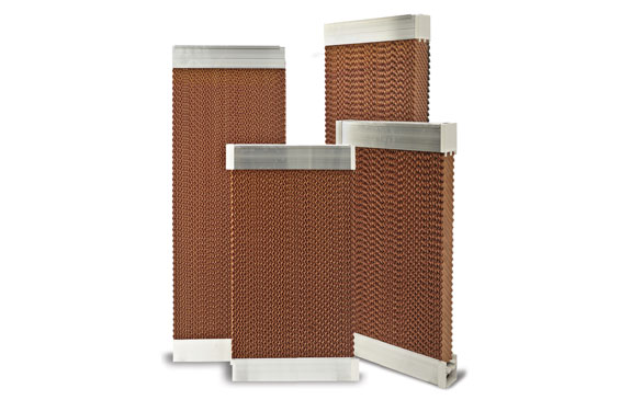 Pannello cooling per raffrescamento evaporativo adiabatico