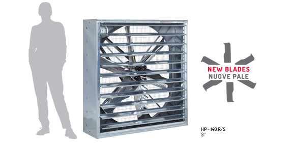 New high pressure fan