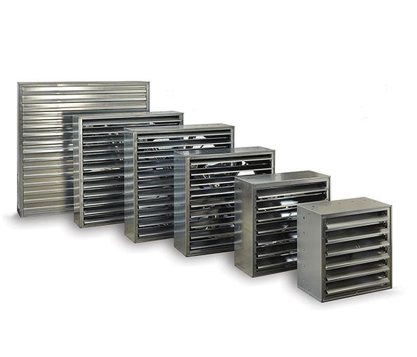 Ventilatori estrattori per raffrescamento adiabatico